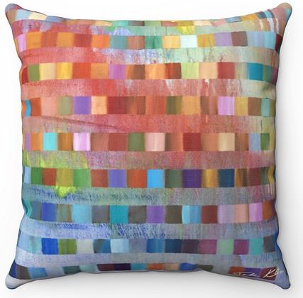 """Noah's Rainbow"" Throw Pillow"