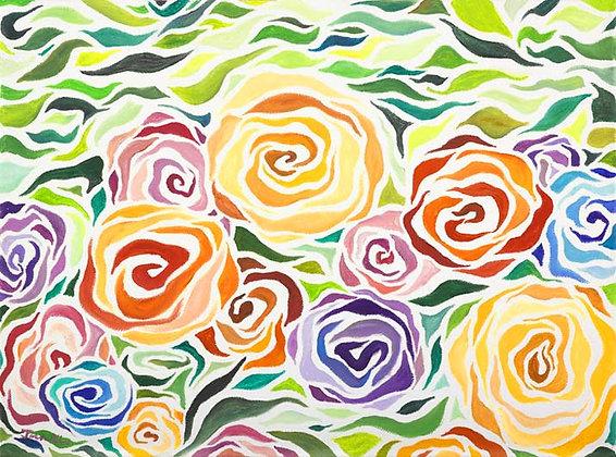 Bright Flowers 3