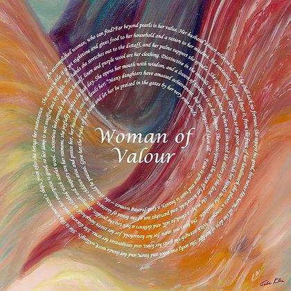 Woman of Valor English 12