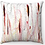 "Thumbnail: ""Red Stalks"" Throw Pillow"