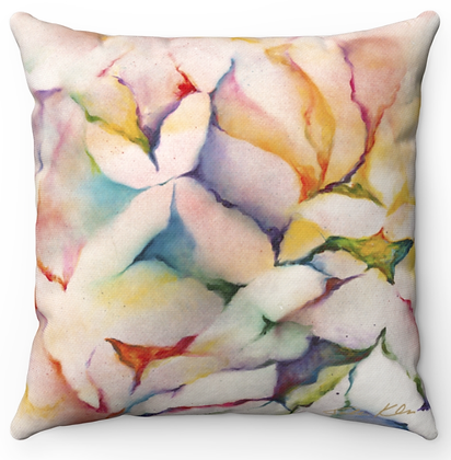 """Petals"" Throw Pillow"