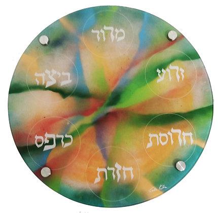 Creation Seder Plate 2