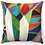"Thumbnail: ""Shabbat Candles"" Throw Pillow"