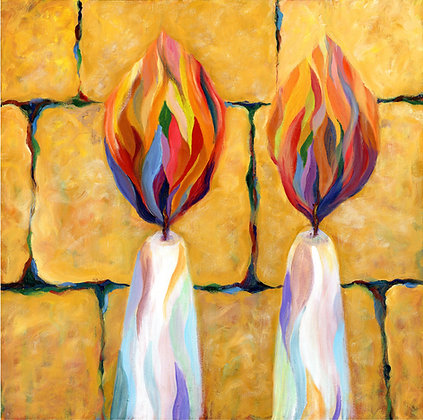 Shabbat Candles 8