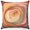"Thumbnail: ""Soft Carnation"" Throw Pillow"