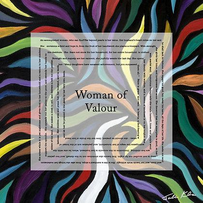 Woman of Valor English 10