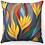 "Thumbnail: ""Yellow Flowers"" Throw Pillow"