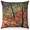 "Thumbnail: ""Autumn Trees 5"" Throw Pillow"