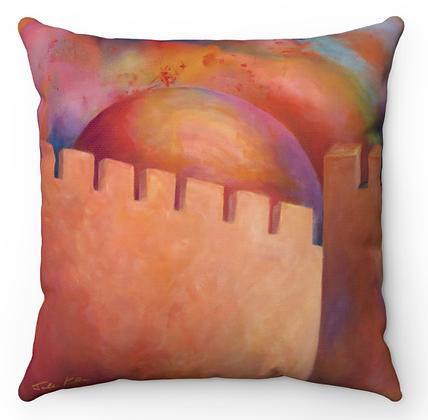 """Jerusalem Sunrise"" Throw Pillow"