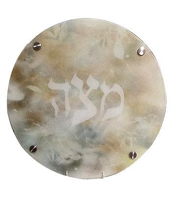 Elegant Matzah Tray
