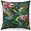 "Thumbnail: ""Flowing Garden"" Throw Pillow"
