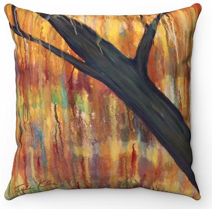 """""""Autumn Trees 4"""" Throw Pillow"""