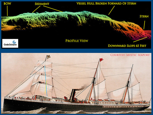 NOAA Uses CodaOctopus Echoscope to Reveal Historic Shipwreck in San Francisco Bay