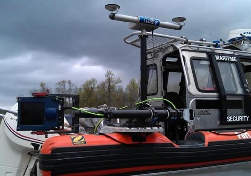 SFPD Marine Patrol Boat Equipped with Coda Octopus Echoscope