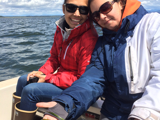NWIC Use BioSonics MX Echosounder for Salish Sea Eelgrass Mapping Project