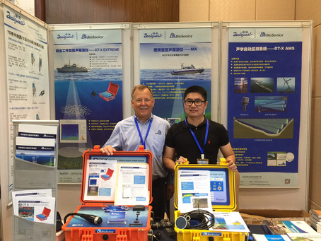 BioSonics DT-X Extreme Echosounder Unveiled at AFAS in Guangzhou, China