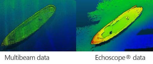 Echoscope Meets IHO S-44 Criteria