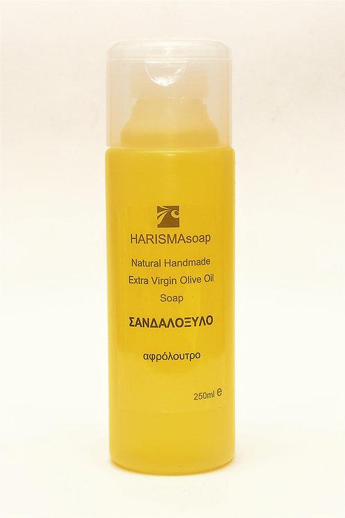 Υγρό Σαπούνι Ελαιόλαδου με άρωμα Σανδαλόξυλο