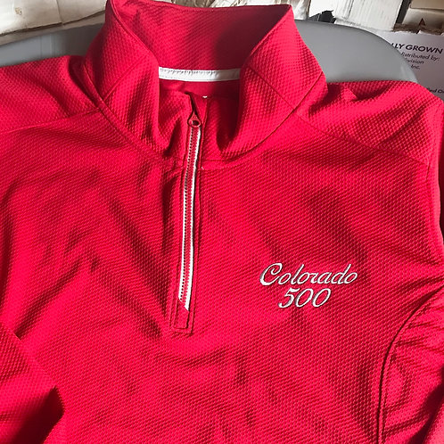 Womens long sleeve 3/4 zip pullover, XL only