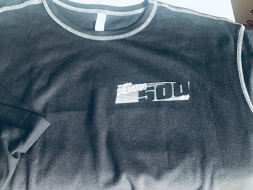 Long sleeve blk. cotton shirt, XXL only