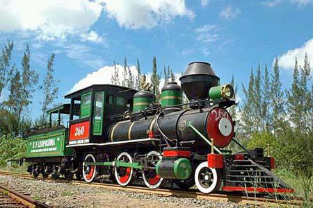 Locomotiva do SESC Grussaí