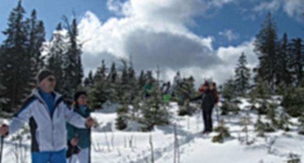 Schneeschuhwandern Bayern, Schneeschuhwanern Bayerischer Wald, Schneeschuhwandern Großer Arber, Schneeschuhverleih Bayerisch Eisenstein
