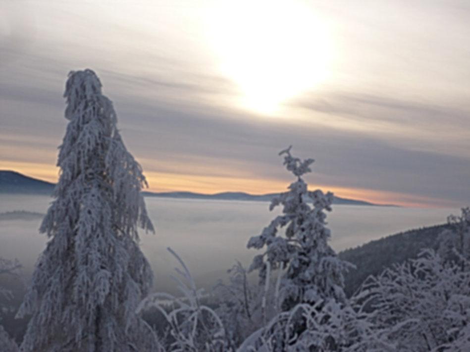 Schneeschuhtouren Bayern / Bayerischer Wald;  Schneeschuhwandern rund um den Großen Arber in Bayerische Eisenstein und Zwiesel. Entdecken Sie beim Schneeschuhwandern die Stille und Ruhe im Bayerischen Wald. Schneeschuhwandern Bayerischer Wald - Ein Traum!
