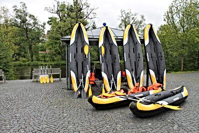 Kanutouren Bayern Schwarzer Regen