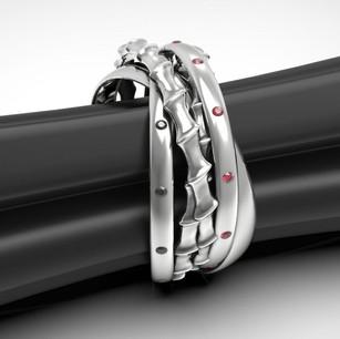 Кольцо выполнено для заказчика , полностью выполнен дизайн и моделирование.