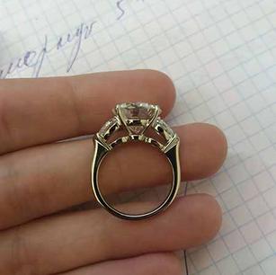 Кольцо выполнено для заказчика компании Цюрих.