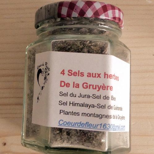 4 sels herbes de Gruyère