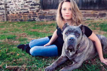 Glow and Krissy.  Photo by Susan Dodd Photography
