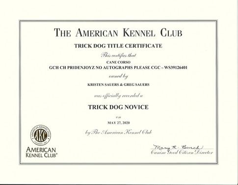 Wally AKC TKN Title.jpg