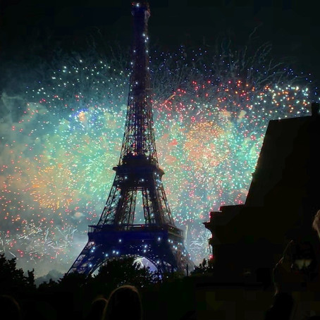 Bastille Day at Champ de Mars, Paris