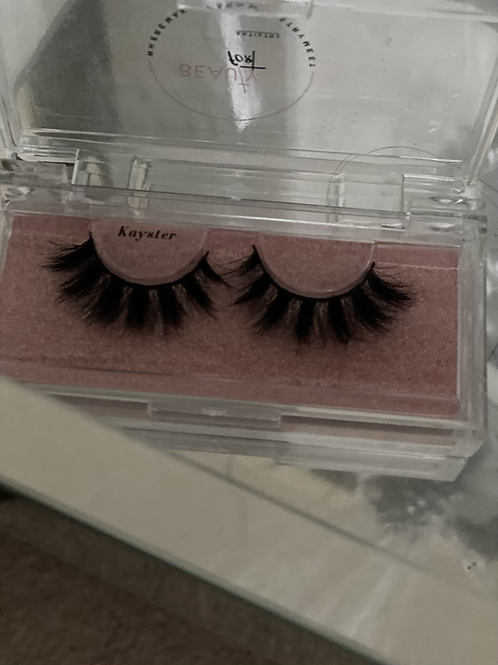 """Signature Mink Lashes """"KAYSTER"""""""