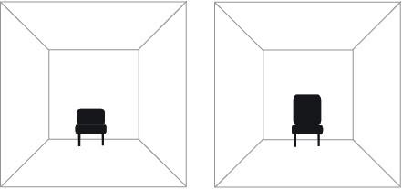 視覚トリック 家具