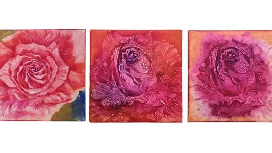 小春の薔薇絵展