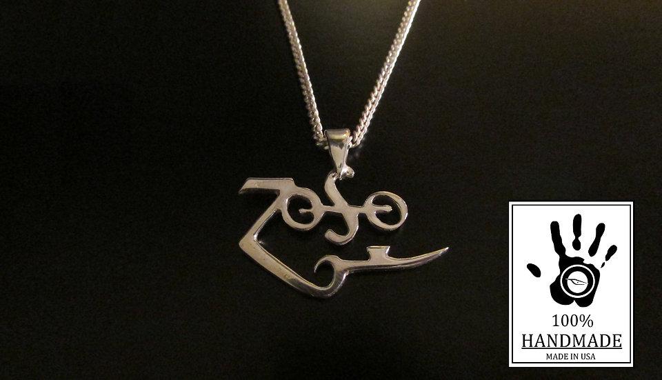 ZOSO pendant Sterling silver 0.925