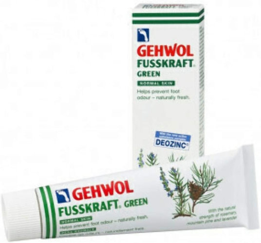 Gehwol FUSSKRAFT green foot odour 75ml