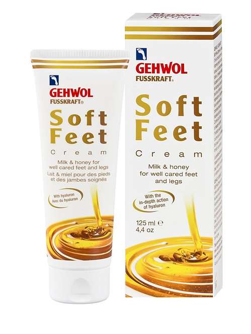 Gehwol Fusskraft soft feet Cream Milk & Honey 125ml