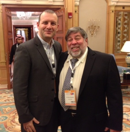 Richard Gerver and Steve Wozniak