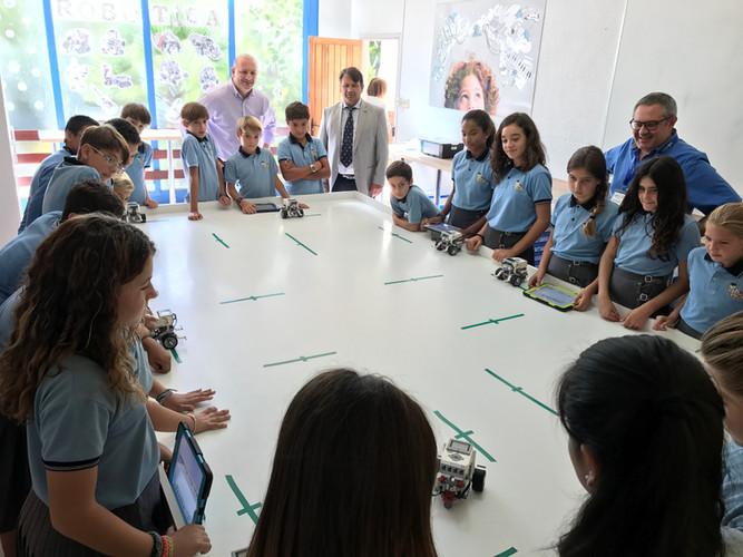 Richard Gerver visiting school