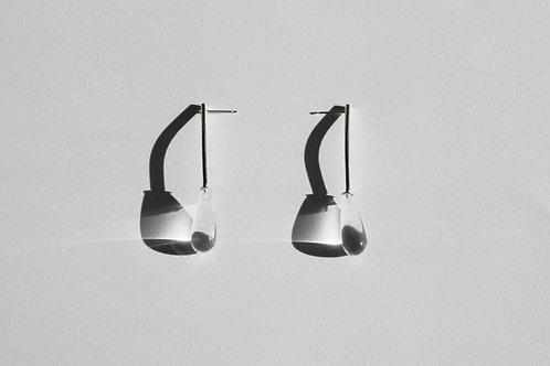 Raindrop Line Earrings