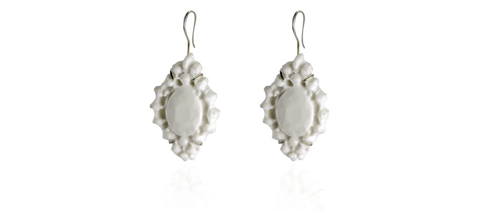 BENEATH II - MARQUISE LARGE EARRINGS