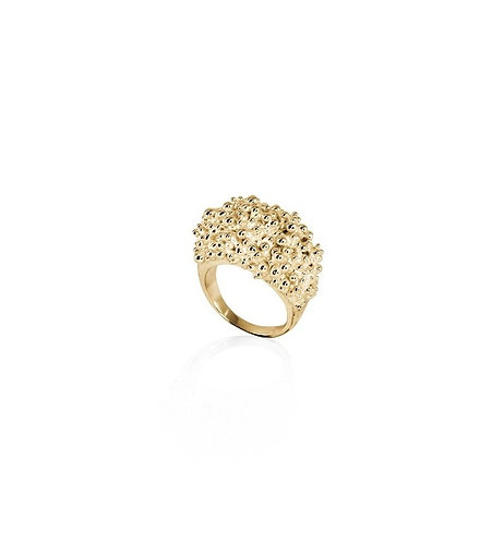 Cluster Ring (wide) - gold