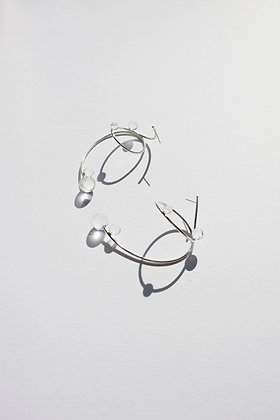 SWIRL STATEMENT EARRINGS