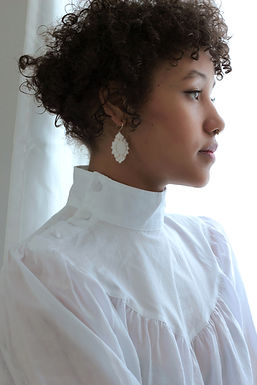BENEATH - MARQUISE LARGE EARRINGS