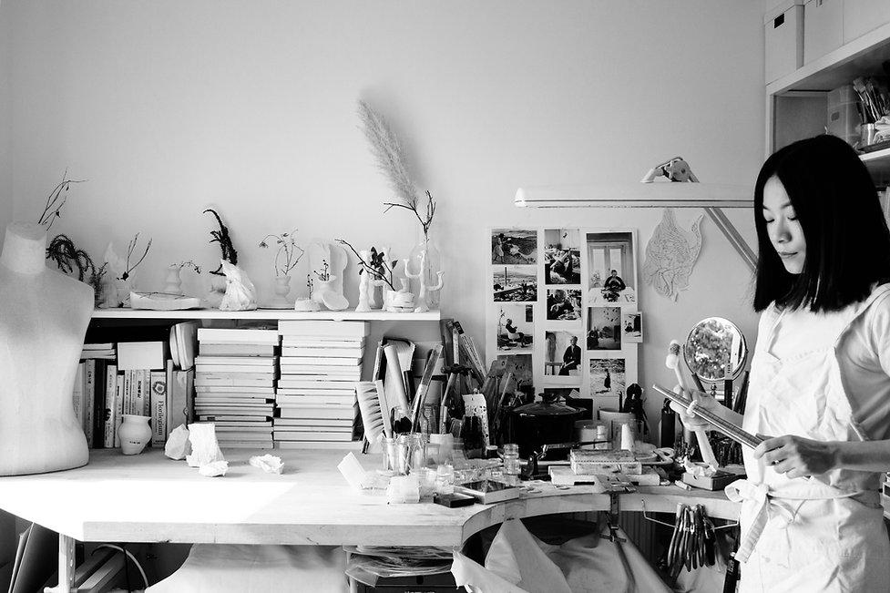 Deborah Tseng Studio vision handmade porcelain jewellery, handmade silver jewellery