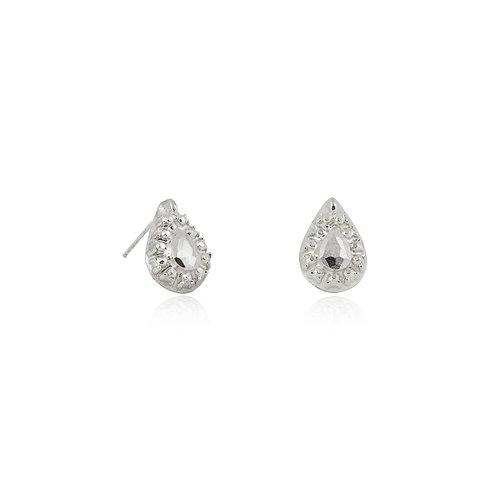 Beneath Ear Studs - silver