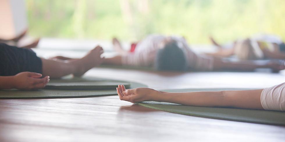 Restorative Yoga class with Jon Witt